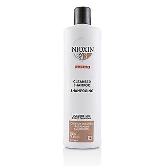 Nioxin Derma Purifying System 3 Cleanser Shampoo (Colored Hair  Light Thinning  Color Safe) 500ml/16.9oz