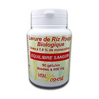 Organic red rice yeast 600 mg 60 tablets of 600mg