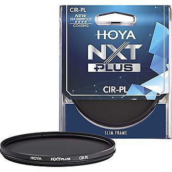 Hoya nxt plus polariseur circulaire - verre clair poli - top-coat étanche à l'eau (82mm)