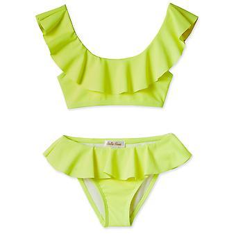 Neon keltainen bikinit