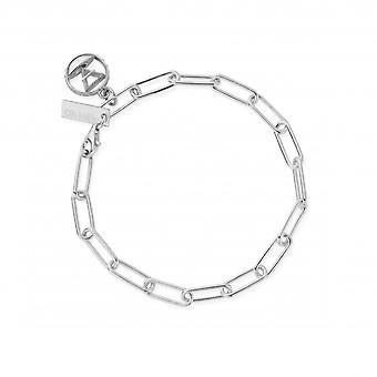 ChloBo SBLC3112 Women's Link Chain Earth Bracelet