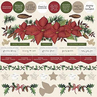 Kaisercraft - Christmas - Home for Christmas Sticker Sheet