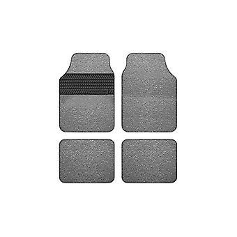 Juego de alfombrillas para el piso del coche Goodyear GOD9019 Universal Grey (4 uds)