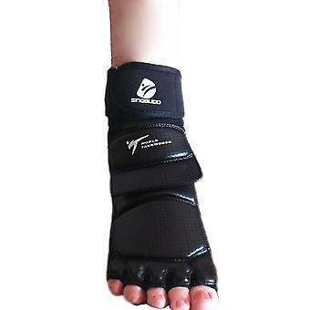 Uudet nahkaiset jalkakäsineet, sparraus nilkkasuojasuoja