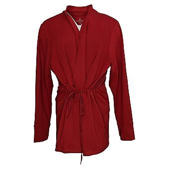 احتضان دودز المرأة & ق سترة بالإضافة إلى Comfortwear تتالي الجبهة التفاف الأحمر A381692