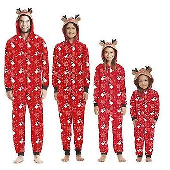 Christmas Matching Family Outfits Jumpsuit Pajamas