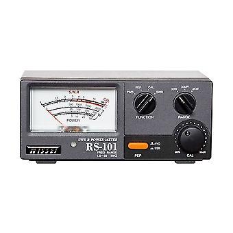 Nissei RS-101 SWR 1.6-60 Mhz Wattmeter 3W-3KW PNI Reflectometer