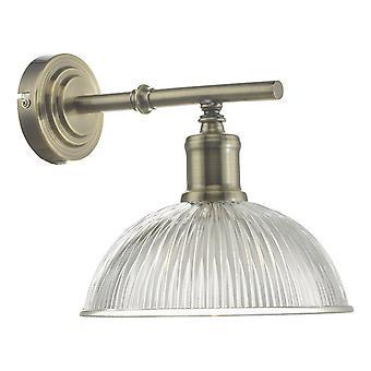 DAR DARA Wandlamp Antiek Messing & Glas