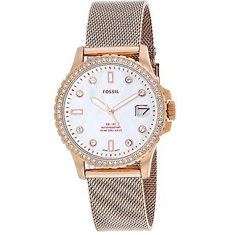 Fossil Women's FB-01 White Dial Watch - ES4999