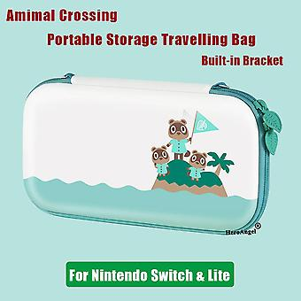 AnimalCrossing Cute Travel Protective Storage Bag For Nintendo Switch Console Case