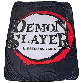 Demon Slayer Kimetsu No Yaiba Fleece Throw Blanket