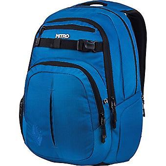 Nitro Snowboards 2018 Casual Backpack, 51 cm, 35 liters, Blue (Blur Brill Azul)