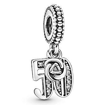 Pandora Bead Charm Silver Woman - 797264CZ
