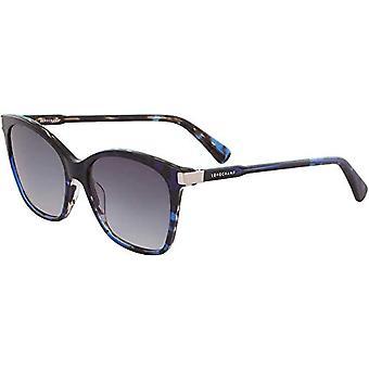 Longchamp LO625S, Acetate Marble Blue Unisex Adult, Multicolored, Standard Sunglasses