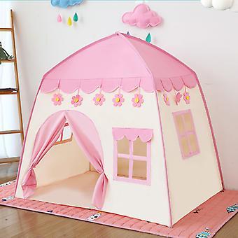 Portable Pliable Jeu Maison Jeu Maison Play Tente Princesse Secret Castle Jouets extérieurs intérieurs
