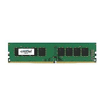 Crucial 16Gb Ddr4 Udimm 2666Mhz Cl19 Single Rank Memory Ram