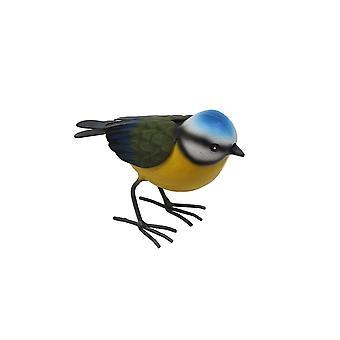 Primus pieni metallinen sininen Tit Garden lintu koriste