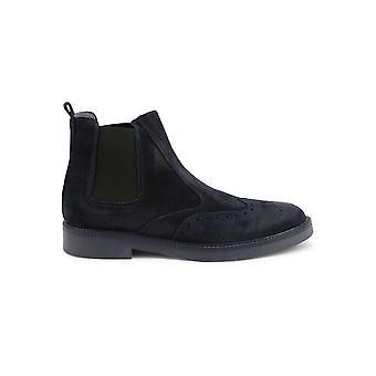 Duca di Morrone - Shoes - Ankle Boots - 400-CAMOSCIO-BLU - Men - navy - EU 43