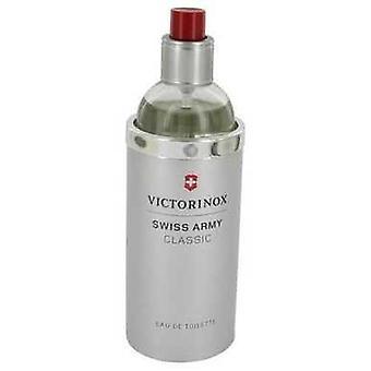 Schweizisk armé av Victorinox Eau De Toilette Spray (testare) 3.4 Oz (män)