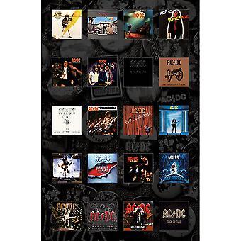 AC/DC - Album Textile Poster