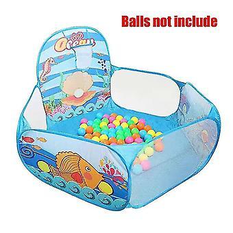 جديد gr0052ocean طفل playpen ملعب الكرة الجافة حمام السباحة طوق كرة السلة خيمة المحمولة sm16584