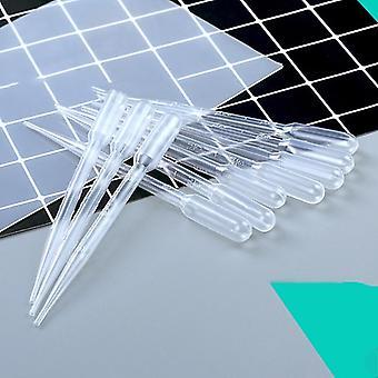plast droppers- diy krystall epoksy pipetter såpe gjør verktøy