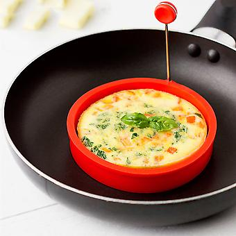 Silicone Ring Egg Shaper For Frying Omlettes And Half Fries