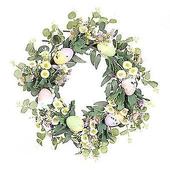 Easter Wreath Decorations For The Home Spring Eucalyptus Grapevine Wreath Decor