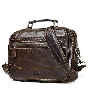حقيبة كتف رجال جلدية كروسبودي حقيبة
