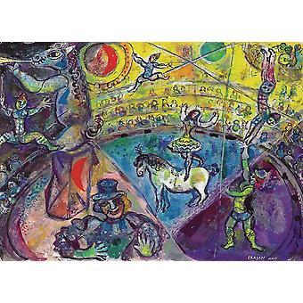 Eurographics El caballo del circo, Rompecabezas de Chagall (1000 Piezas)
