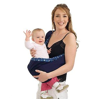 Újszülött csecsemő kisgyermek bölcső tasak gyűrű heveder fuvarozó Kid Wrap Bag
