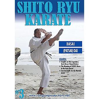 Shito Ryu Karaté #3 Code craquant De Kata Bassai Dvd Billimoria -Vd7050A