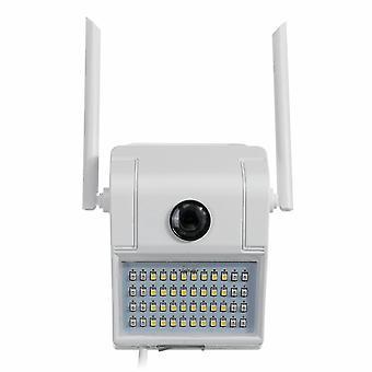 Solar Motion LED Væg Light Wifi 1080P Sikkerhed Kamera Udendørs Have Lampe Vandtæt