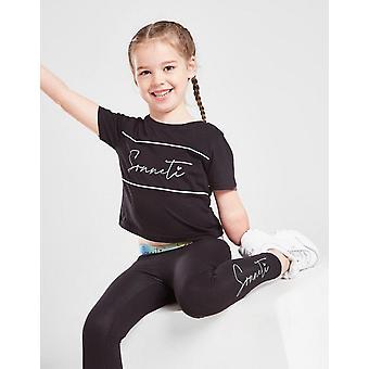 New Sonneti Girls' Eden T-Shirt/Leggings Set  from JD Outlet Black