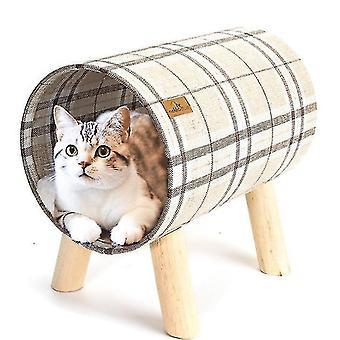 고양이 해먹 침대, 부착 가능한 커버와 높은 애완 동물 침대 통기성 매달려 둥지