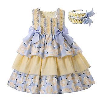 Children Fancy Flower Princess Dresses