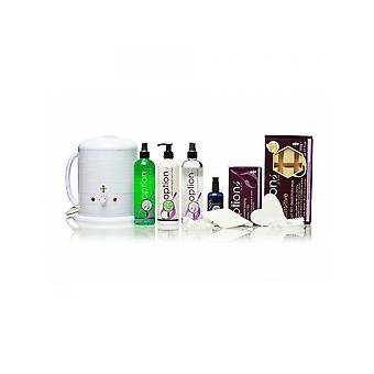 Hive av skönhet vaxning No1 värmare 1 liter känslig varm film vax hårborttagning kit