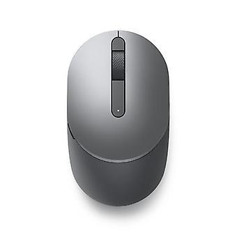 DELL MS3320W, Ambidextrous, Optical, Wireless RF + Bluetooth, 1600 DPI, Grey