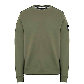 Weekend offender aw21 f bomb sweat - green clay