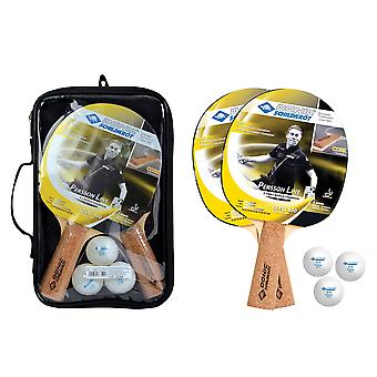 Donic Schildkrot Persson 500 Cork Table Tennis SetВ- 2 Paddles and 3 Balls 40mm