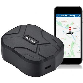 Gps Tracker, Waterproof 5 Months Standby Rechargable Tracker And Anti-lost Gps Locator For Vehicle Car Boat Truck Real Time Anti Theft Tracking Device