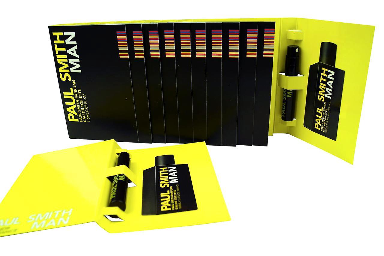 Paul Smith Mann EDT kardiert Fläschchen set 1,6 ml jedes (12-Box)