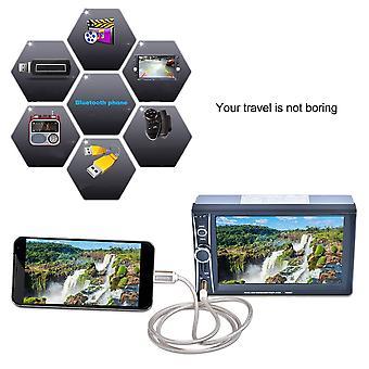 2 Din Car Mp5 Player Gps Navigation Car Stereo Rear Camera 8gb Gps Map Card