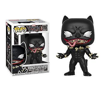 Funko Pop Marvel Venom/Venomized-Panthers Neu gestaltete Version Figur
