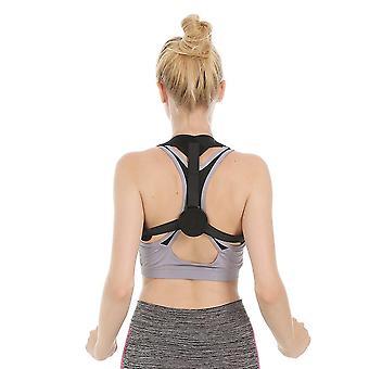 Appui arrière d'accolade d'épaule noire Support redresseur Attelle d'arrière respirante réglable