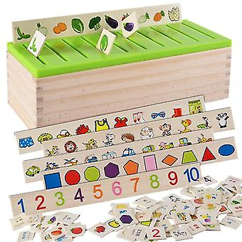 Classification des connaissances mathématiques Cognitive Matching Kids Montessori Early Educational