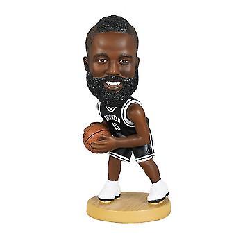 Qian James Harden Figurine d'action Statue Bobblehead Basketball Doll Décoration