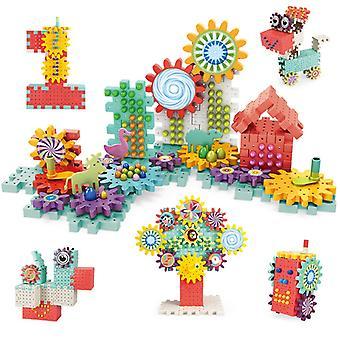 Byggesett Plast Murstein Blokker Pedagogiske Leker For Barn