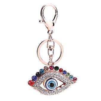 Kristalli tekojalokivi avaimenperä avaimenperä charmi lompakko riipus laukku koristelu joulu koristeet