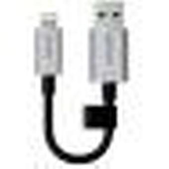Lexar Jumpdrive C20i 3-in-1 32gb Lightning Usb 3.0 Flash Drive Black And Silver